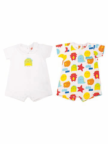 2 SLEEPSUIT SET M.MONSTER